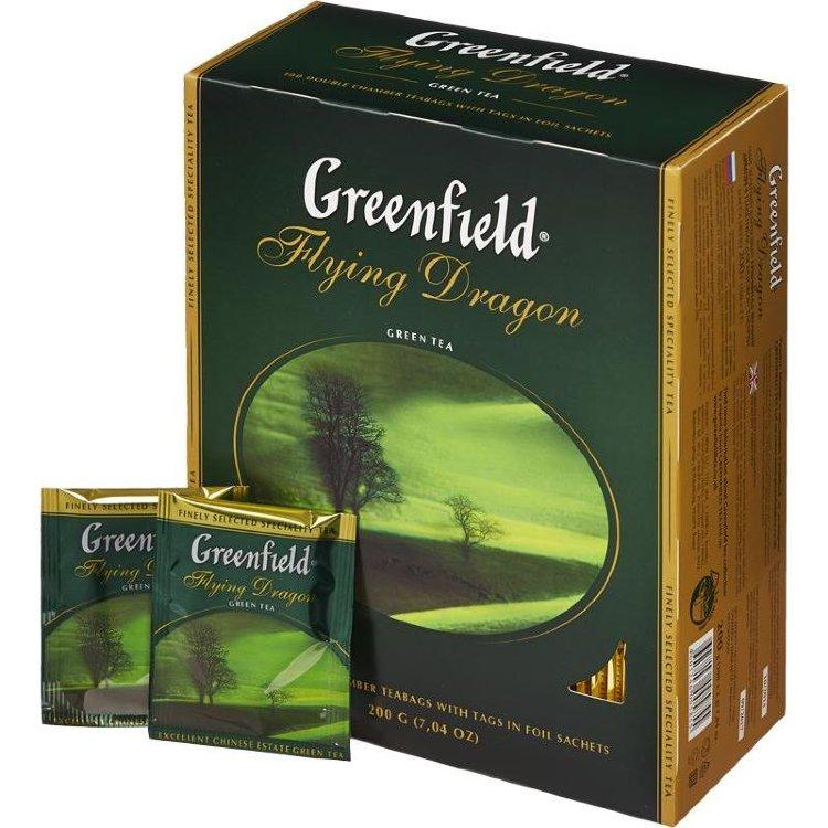 чай гринфилд рассыпной ассортимент